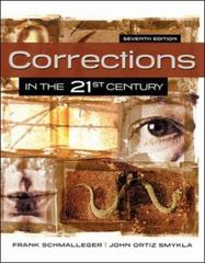 Corrections in the 21st Century 7th Edition 9780078140921 0078140927