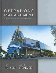 Operations Management and Student CD 1st Edition 9780133408010 0133408019