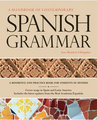 A Handbook of Contemporary Spanish Grammar with Supersite Code 1st Edition 9781617671067 1617671061