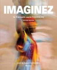 Imaginez 2e Student Activities Manual 2nd Edition 9781605768953 1605768952