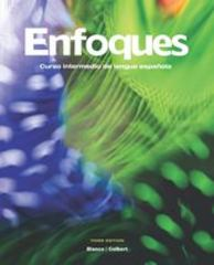 Enfoques Student Activities Manual 3rd Edition 9781605768892 1605768898