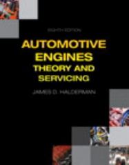 Automotive Engines 8th Edition 9780133515008 0133515001