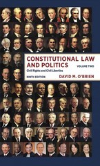 Constitutional Law and Politics 9th Edition 9780393922400 0393922405