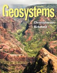 Geosystems 9th Edition 9780321926982 0321926986