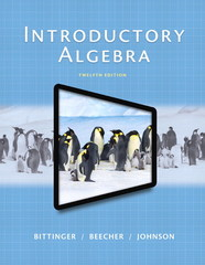Introductory Algebra 12th Edition 9780321867964 0321867963