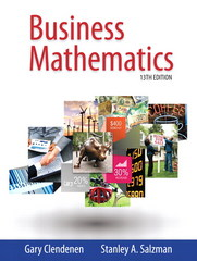 Business Mathematics 13th Edition 9780321955050 0321955056