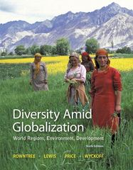 Diversity Amid Globalization 6th Edition 9780321910066 0321910060