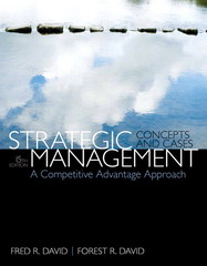 Strategic Management 15th Edition 9780133444797 0133444791