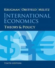 International Economics 10th Edition 9780133423648 0133423646