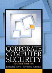 Corporate Computer Security 4th Edition 9780133545197 0133545199