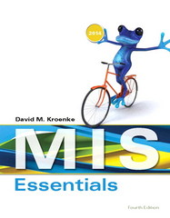 MIS Essentials 4th Edition 9780133546590 0133546594