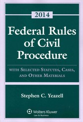 Federal Rules of Civil Procedure 2014th Edition 9781454841777 145484177X