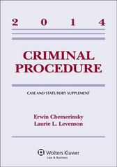 Criminal Procedure 1st Edition 9781454841739 1454841737