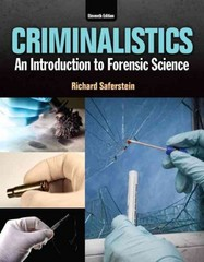 Criminalistics 11th Edition 9780133458824 0133458822