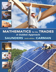 Mathematics for the Trades 10th Edition 9780133347777 013334777X