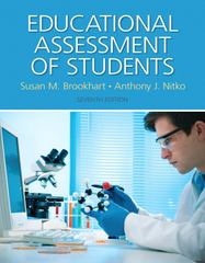 Educational Assessment of Students 7th Edition 9780133550221 0133550222