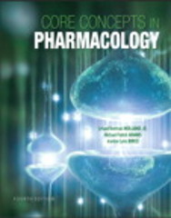Core Concepts in Pharmacology 4th Edition 9780133449815 0133449815