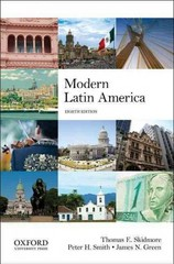 Modern Latin America 8th Edition 9780199929238 0199929238