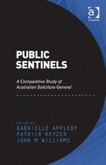 Public Sentinels 1st Edition 9781317073338 1317073339