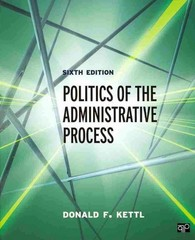 Politics of the Administrative Process 6th Edition 9781483332932 1483332934