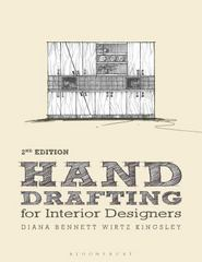 Hand Drafting for Interior Design 2nd Edition 9781609019976 1609019970