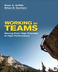 Working in Teams 1st Edition 9781483313283 148331328X
