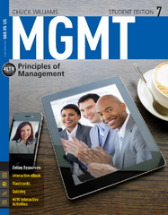 MGMT 7 (with Coursemate Printed Access Card) 7th Edition 9781285419664 1285419669