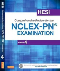 HESI Comprehensive Review for the NCLEX-PN®  Examination 4th Edition 9781455751068 1455751065