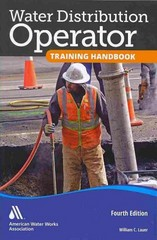 Water Distribution Operator Training Handbook 4th Edition 9781583219546 1583219544