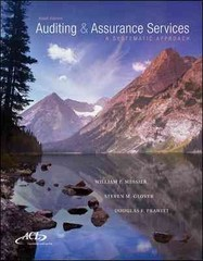 Auditing & Assurance Services w/ ACL Software CD-ROM 9th Edition 9781259162343 1259162346