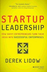 Startup Leadership 1st Edition 9781118697054 1118697057