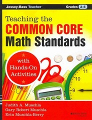 Teaching the Common Core Math Standards with Hands-On Activities, Grades 3-5 1st Edition 9781118710333 1118710339