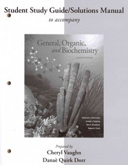 SSG/SM for General, Organic, and Biochemistry 8th Edition 9781259249846 1259249840