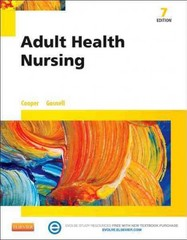 Adult Health Nursing 7th Edition 9780323100021 0323100023