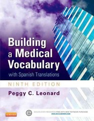 Building a Medical Vocabulary 9th Edition 9781455772681 1455772682