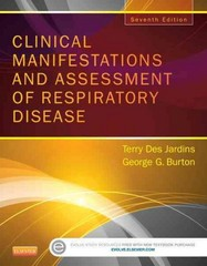 Clinical Manifestations and Assessment of Respiratory Disease 7th Edition 9780323244794 0323244793