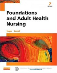 Foundations and Adult Health Nursing 7th Edition 9780323100014 0323100015
