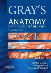 Gray's Anatomy for Students Flash Cards 3rd Edition 9781455758982 1455758981