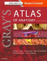 Gray's Atlas of Anatomy 2nd Edition 9781455748020 1455748021