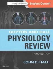 Guyton & Hall Physiology Review 3rd Edition 9781455770076 1455770078