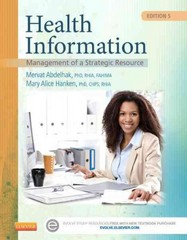 Health Information 5th Edition 9780323295055 0323295053