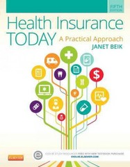 Health Insurance Today 5th Edition 9780323188173 0323188176
