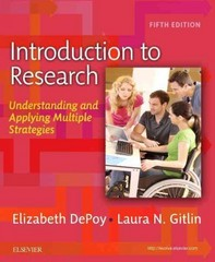Introduction to Research 5th Edition 9780323261715 032326171X