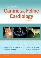 Manual of Canine and Feline Cardiology 5th Edition 9780323188029 0323188028