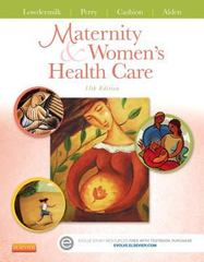 Maternity and Women's Health Care 11th Edition 9780323169189 032316918X