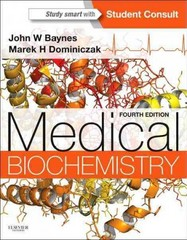 Medical Biochemistry: With STUDENT CONSULT Online Access 4th Edition 9781455745807 1455745804