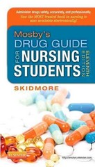 Mosby's Drug Guide for Nursing Students 11th Edition 9780323170215 0323170218