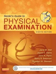 Seidel's Guide to Physical Examination 8th Edition 9780323112406 0323112404