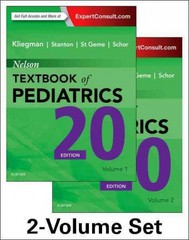 Nelson Textbook of Pediatrics, 2-Volume Set 20th Edition 9781455775668 1455775665