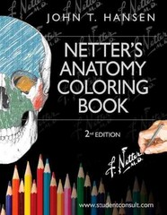 Netter's Anatomy Coloring Book 2nd Edition 9780323187985 0323187986